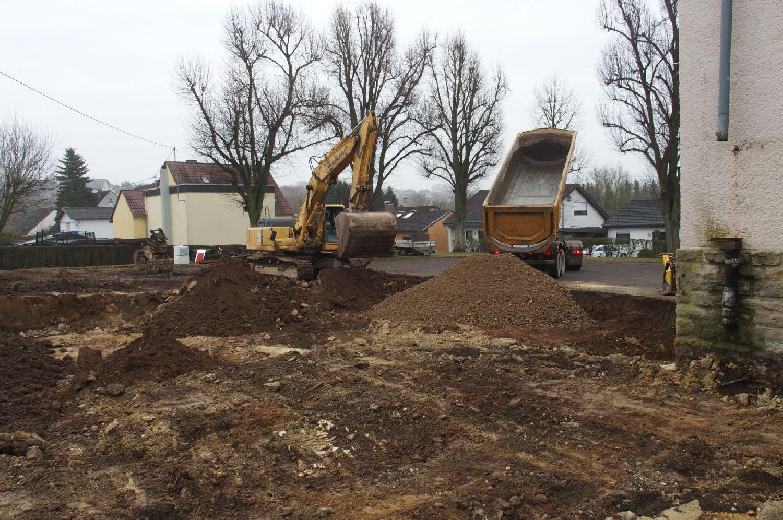 Abriss abgeschlossen – Neubau beginnt